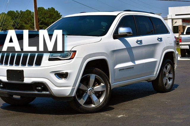Jeep Grand Cherokee Overland >> Pre Owned 2016 Jeep Grand Cherokee Overland With Navigation 4wd