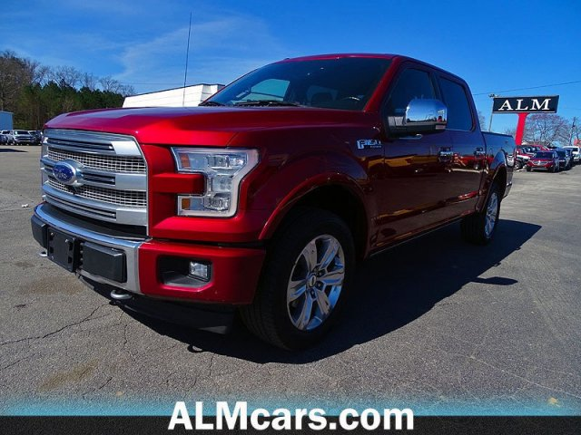 Pre-Owned 2017 Ford F-150 Platinum