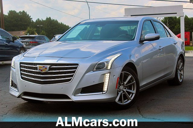 Pre-Owned 2019 Cadillac CTS Sedan Luxury RWD