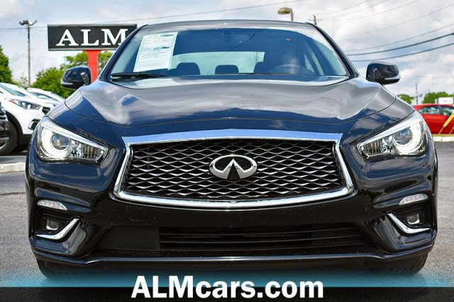 Pre-Owned 2019 INFINITI Q50 3 0t LUXE RWD 4dr Car