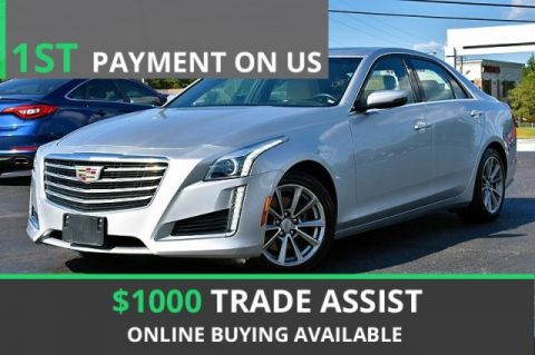 Pre-Owned 2019 Cadillac CTS Sedan Luxury RWD With Navigation