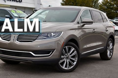 Pre-Owned 2017 Lincoln MKX Reserve With Navigation & AWD