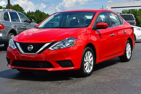 Pre-Owned 2018 Nissan Sentra SV FWD 4dr Car