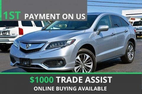 Pre-Owned 2017 Acura RDX w/Advance Pkg With Navigation & AWD