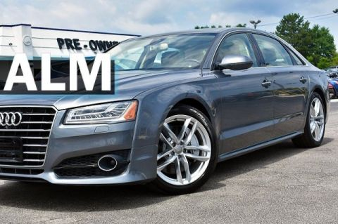 Pre-Owned 2017 Audi A8 L Sport With Navigation & AWD