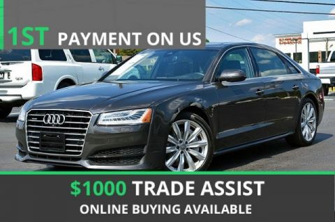 Pre-Owned 2016 Audi A8 L 4.0T Sport With Navigation & AWD