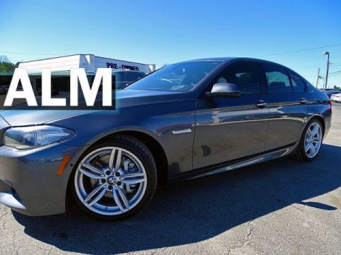 Pre-Owned 2016 BMW 5 Series 535i With Navigation