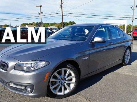 Pre-Owned 2016 BMW 5 Series 535i xDrive With Navigation & AWD